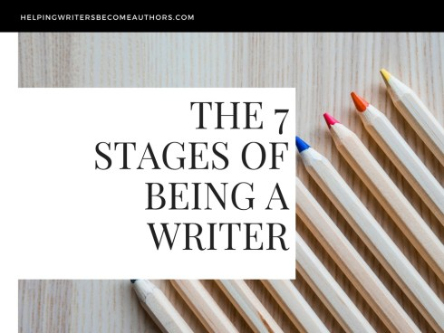 The 7 Stages of Being a Writer