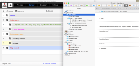 Outlining Your Novel Workbook Computer Program Export to Scrivener