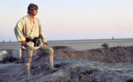 luke skywalker tatooine star wars new hope