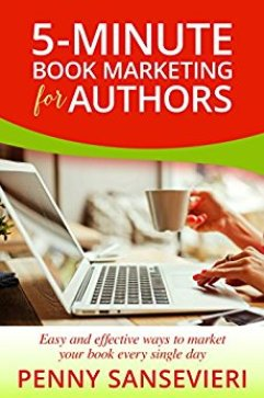 5 Minute Book Marketing for Authors Penny Sansevieri