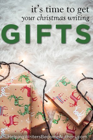 It's Time to Buy Christmas Gifts for Writers!