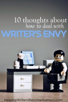 10 thoughts about how to deal with writer's envy