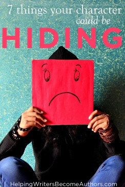 7 things your character could be hiding