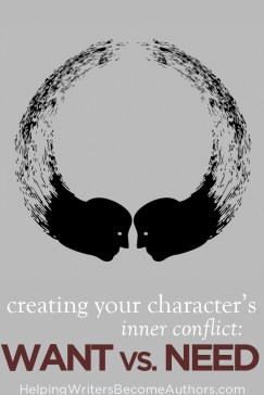 character's inner conflict pinterest
