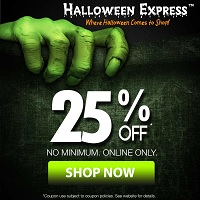 halloween express email sign up
