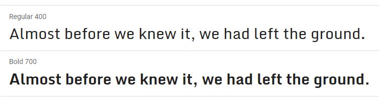 Monda Google Font