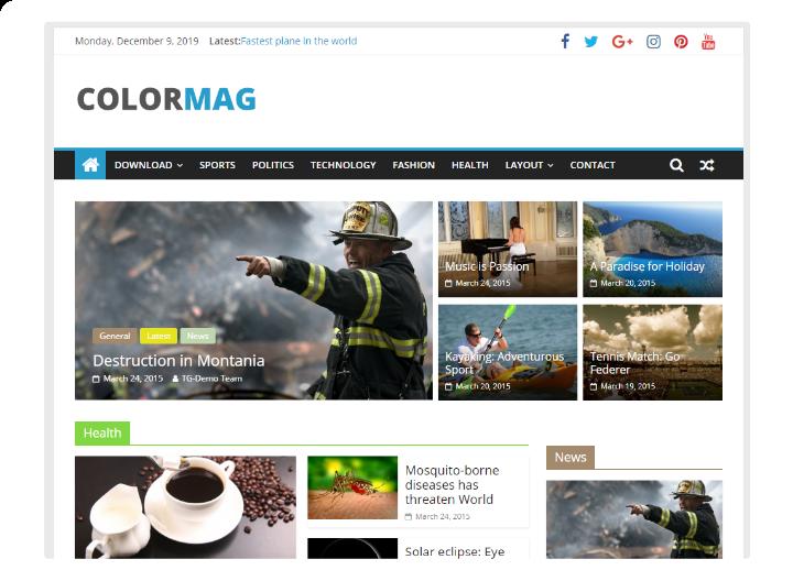 ColorMag Free WordPress Theme