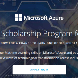 Microsoft Machine Learning Scholarship