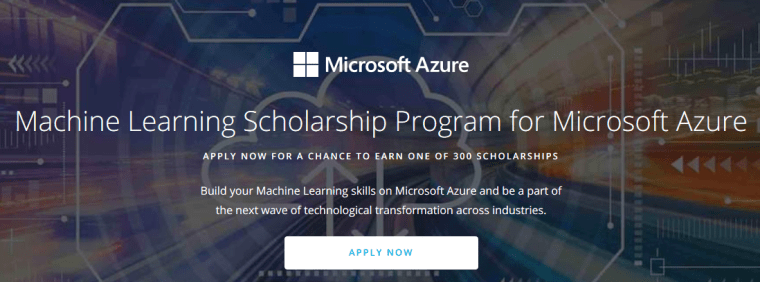 Microsoft Machine Learning Scholarship