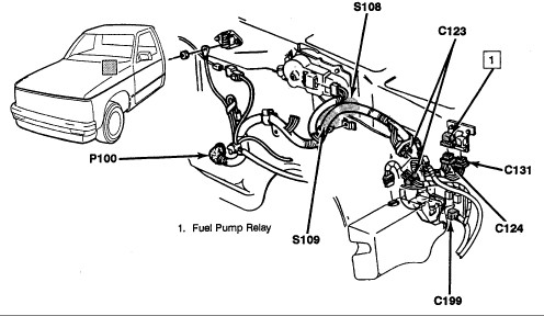 1994 chevy astro van fuel pump wiring diagram wiring diagram 91 chevy astro van where is the fuel pump relay how do i know its bad