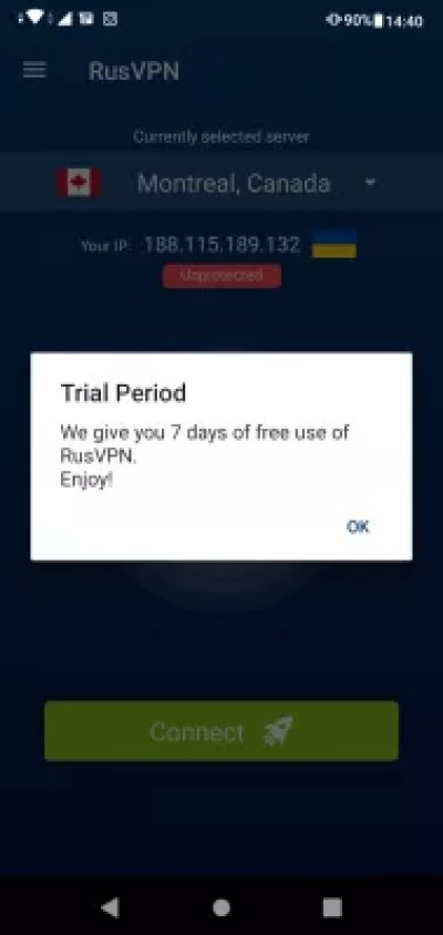 Easy guide: setting up VPN on Android phone with free trial : Free mobile VPN use for 7 days