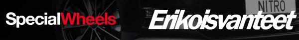Erikoisvanteet Nitro Wheels, CSP, ATS, Image, MSW, Oz Racing, BM, Ballistic, Sparco, Breyton, Beyern, Black Rhino, TSW, Mandrus, Redbourne, Victor