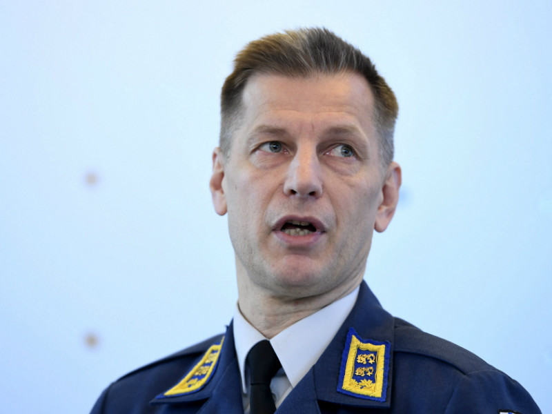 Major General Sampo Eskelinen is suspected of neglecting his duty to open a pre-trial investigation into suspected offences by a former commander of the Karelia Air Command. (Credit: Martti Kainulainen – Lehtikuva)