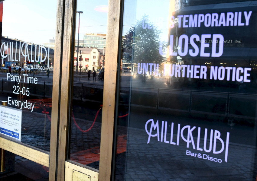 There are stricter restrictions in Finnish pubs and nightclubs than in cafes and restaurants