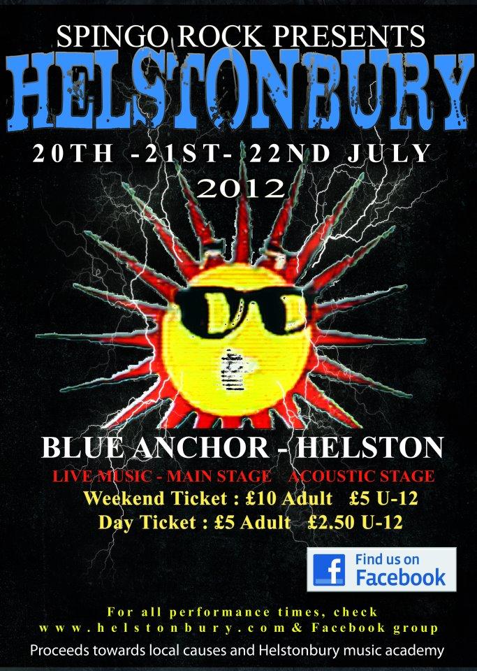 Helstonbury 2012 Poster