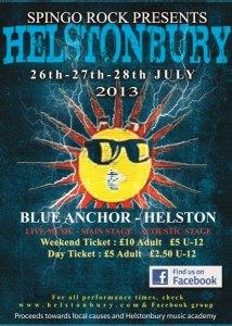 Helstonbury 2013 Poster