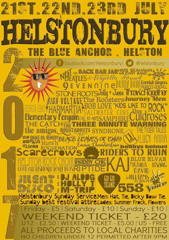 Helstonbury 2017 Poster