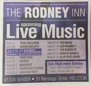 The Rodney Inn Helston