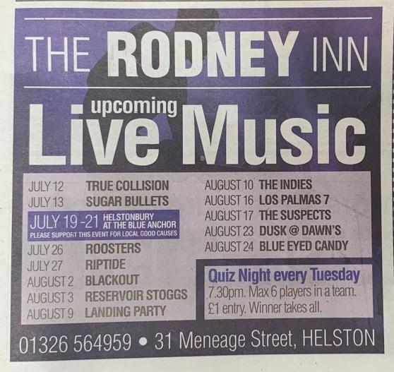 The Rodney Inn Helston