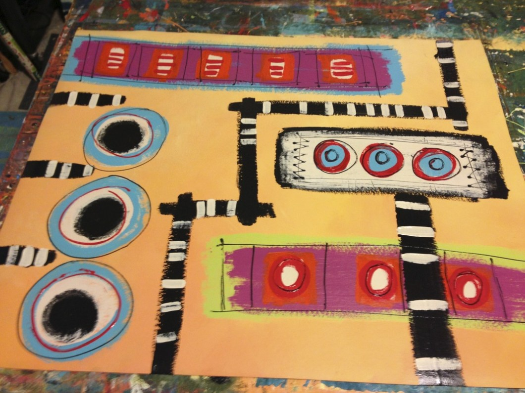 Hand Painted Floor Cloths   Floorviews co