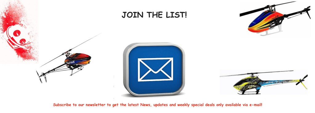 Join The List!
