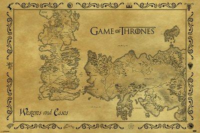Game-Of-Thrones-Antique-Map-61-x-91-cm-Affiche-0