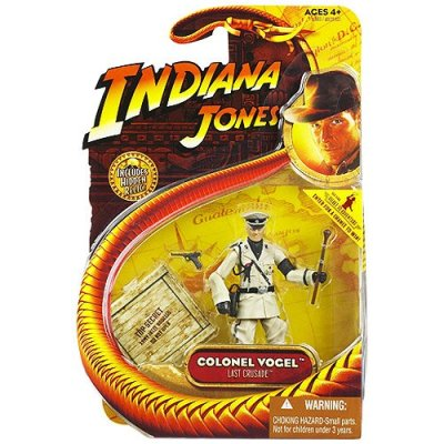 Hasbro-4007040666-Indiana-Jones-et-la-Dernire-Croisade-3-34-Figurine-10cm-Colonel-Vogel-0