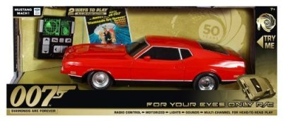 Toy-State-James-Bond-Light-and-Sound-For-Your-Eyes-Only-RC-1971-Ford-Mustang-Mach-1-Diamonds-are-Forever-by-Toy-State-0