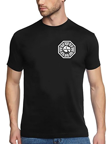 Coole-Fun-T-shirts-LOST-DHARMA-INITIATIVE-T-Shirt-T-Shirt-Mixte-0