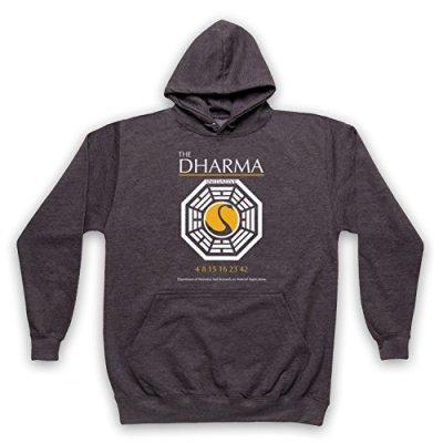 Inspire-par-Lost-The-Dharma-Initiative-Officieux-Sweat-a-Capuche-des-Adultes-0