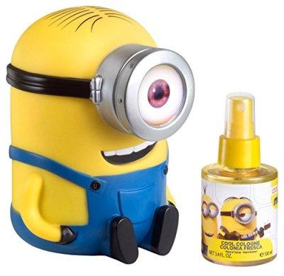 Minions-Coffret-Eau-Frache-Parfume-100-ml-Tirelire-3D-0