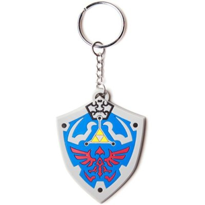 Legend-of-Zelda-porte-cls-caoutchouc-Hyrulian-Crest-7-cm-0
