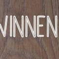 Foto met winnen? om winactie van hemelsblauw te promoten