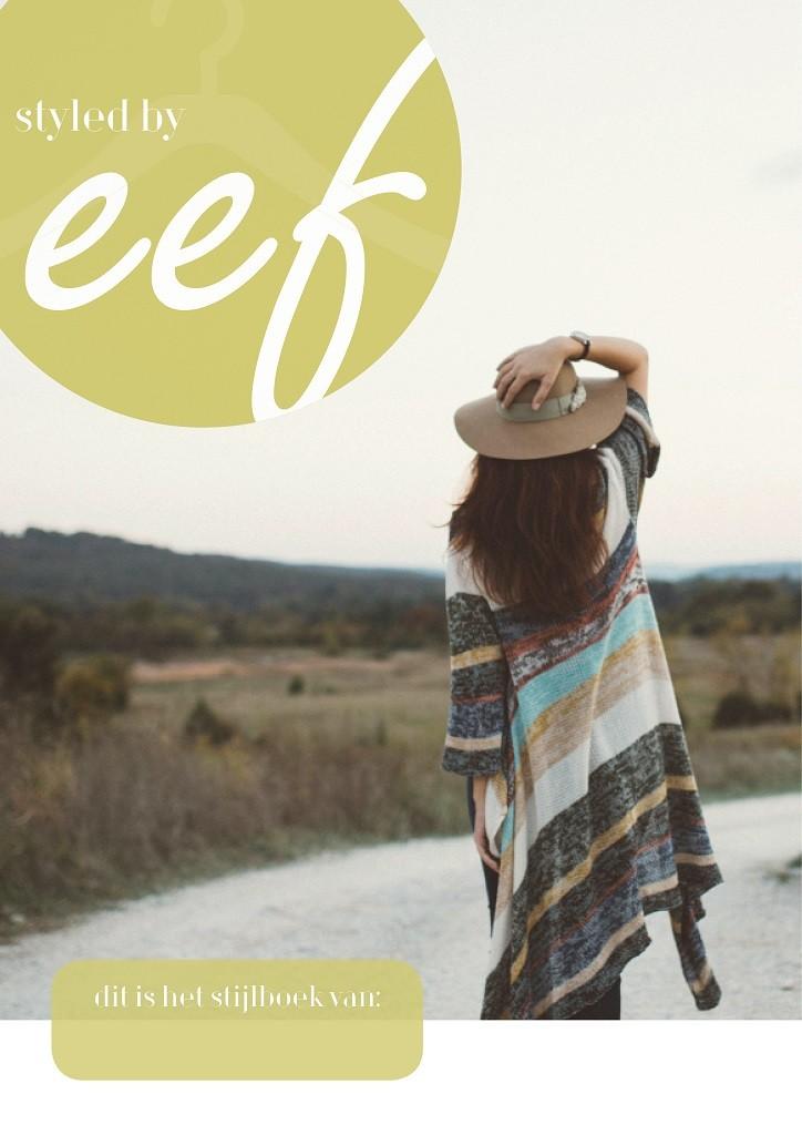 Stijlboek voor Evelien van Styled bij Eef ontwerp door hemelsblauw