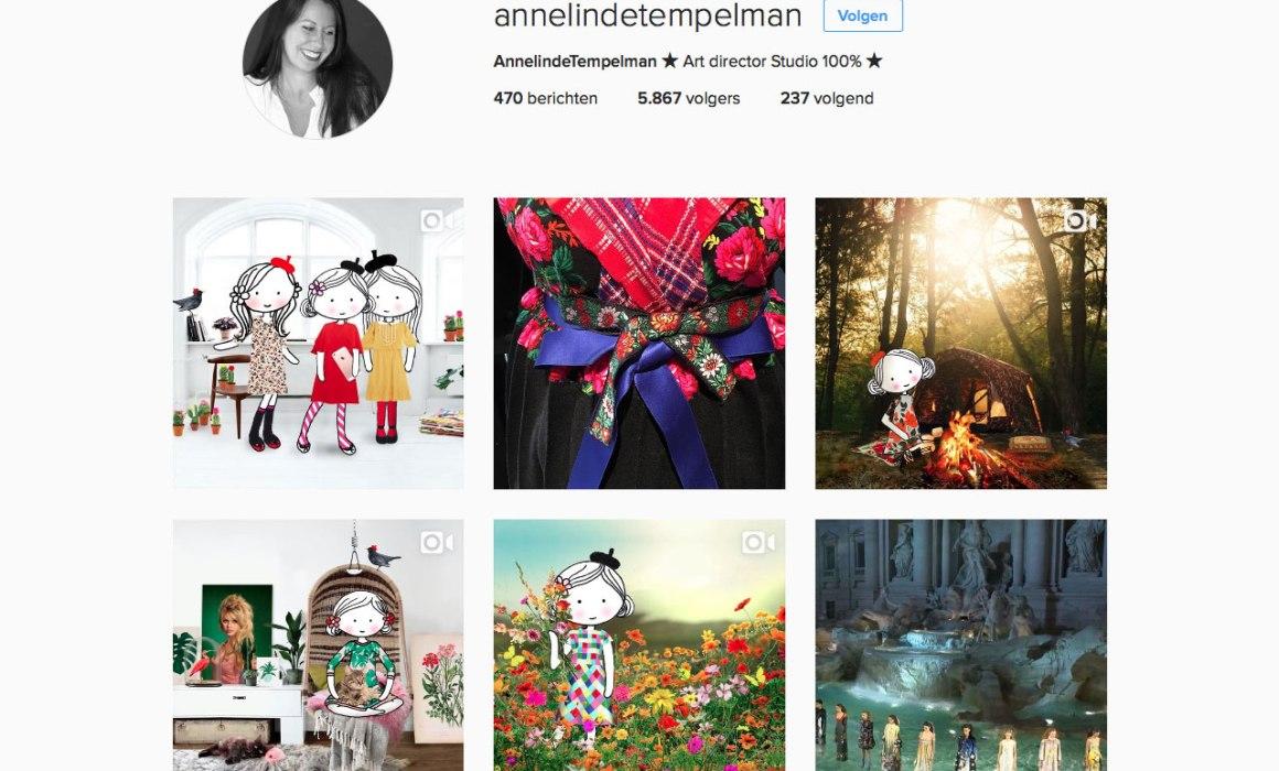 instagram Annelinde Timpelman