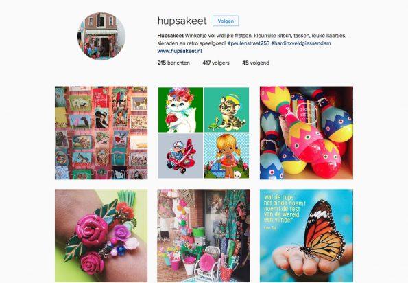 Instagram Hupsakeet