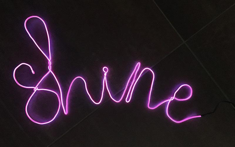 Neon Letters Huis : Eerste indruk: neon lichtsnoer van hema u2022 hemelsblauw nederlandse