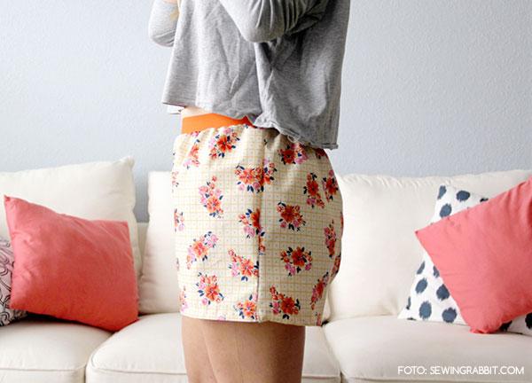 Geliefde DIY: 5 x zelf eenvoudig kleding maken • Hemelsblauw   Nederlandse  &EQ08
