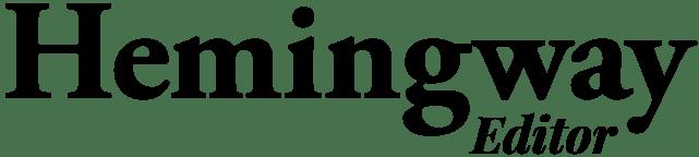 Image result for hemingway editor