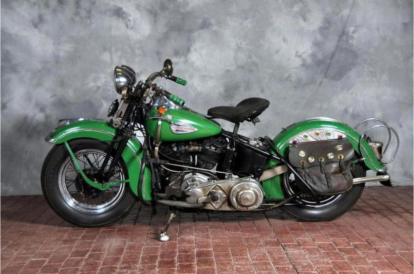 Harley Davidson El Auction Record Set