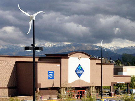 Walmart taking green energy to the masses