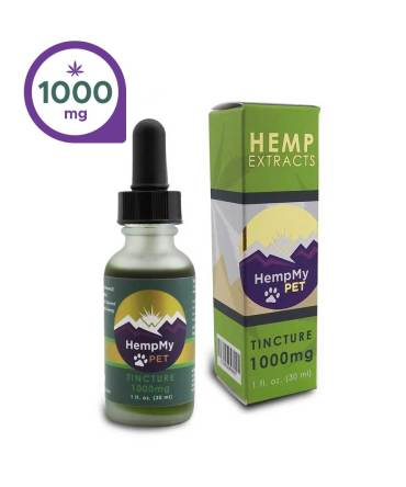 Hemp Seed Oil, Organic - 1000mg CBD Full Spectrum (1 fl. oz. bottle)