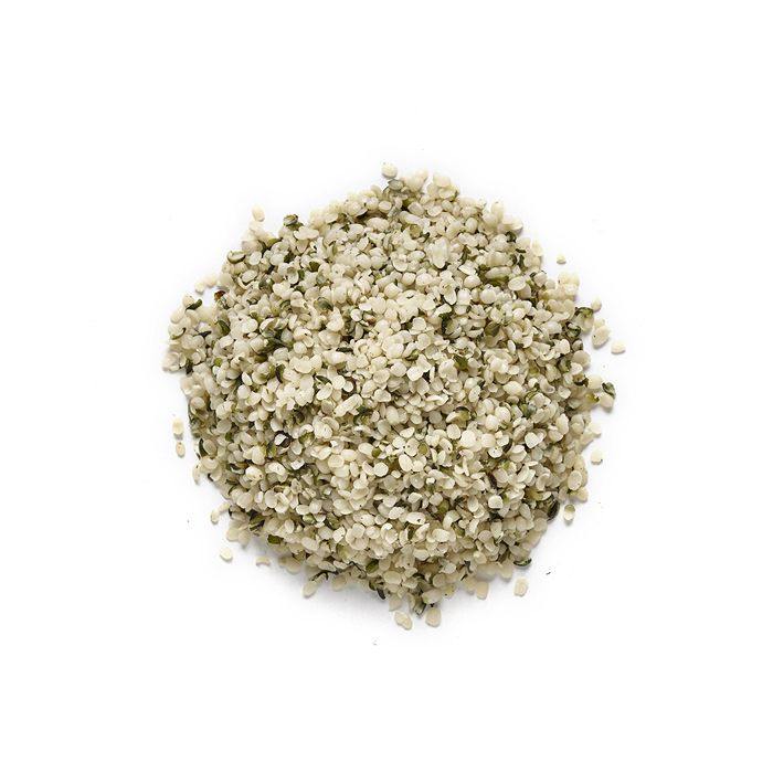 1kg bulk Raw Discount Wholesale Organic Canadian Shelled Hemp Seeds (Hearts) by Prana