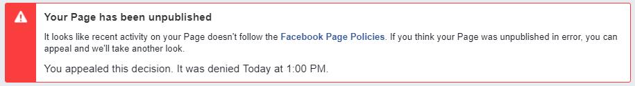 Hemp Oil Rockstar Gets Kicked Off of Facebook