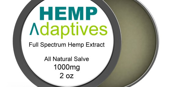 Hemp Adaptives™ Premium Hemp Oil Extract Salve 1000mg CBD and Cannabinoids