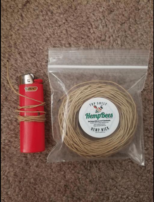 hempwich beeswax bic lighter