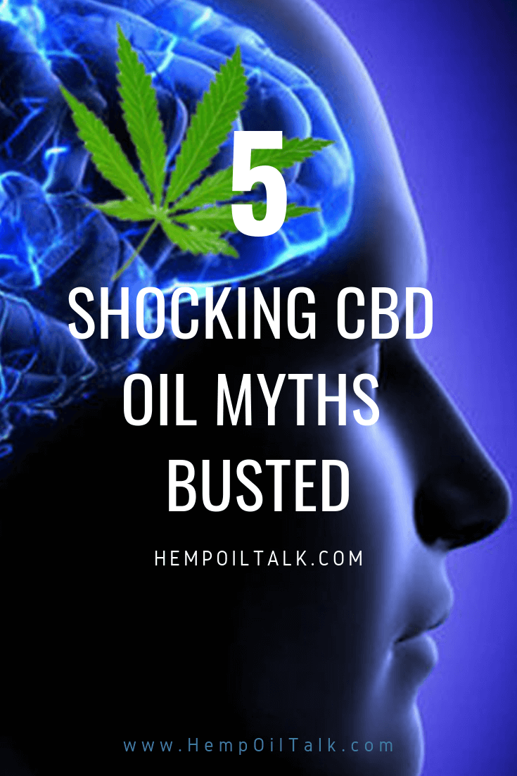 5 CBD Oil Myths Busted!