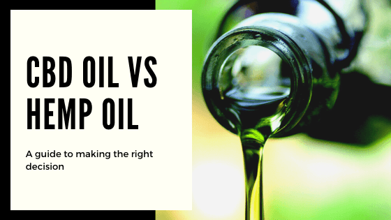 Is There a Difference Between Hemp Oil and CBD Oil? 1