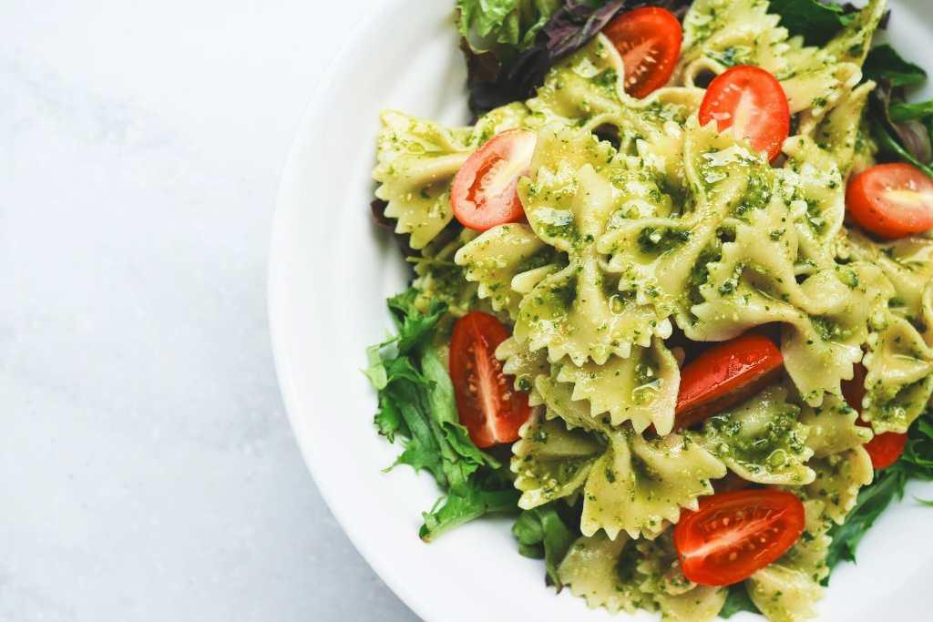 hemp oil on salad