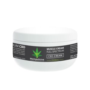 CBD Muscle Cream 250mg